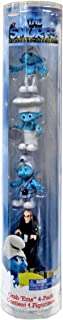 The Smurfs Movie Grab Ems Exclusive Mini Figure 4Pack Clumsy, Chef, Gutsy Gargamel
