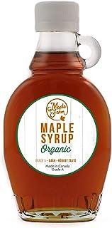 comprar comparacion Jarabe de arce BIO - Grado A (Dark, Robust taste) - 189ml (250 g) - Miel de arce biológico - Sirope de arce - Organic mapl...