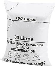 Textilhome - Zitzak vulling 100 liter -nieuwe of EPS-parel vulling - Hoog herstel polystyren en groot volume.