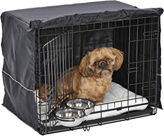 iCrate Dog Crate Starter Kit | 24-Inch Dog Crate Kit Ideal for Small Dog Breeds (weighing 13-25 Pounds) || Includes Dog Cr...