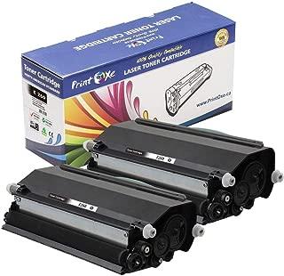 PrintOxe Compatible 2 Toners for E260 (E260A11A & E260A21A) Each E-260 Toner Delivers 3,500 Page Yield for Printer Models: E260, E260D, E260DN, E360, E360D, E360DN, E460, E460DN, E460