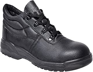 Steelite Work Boots Lace up Mens AU Sizes AU Stock Strong Leather Anti Slip