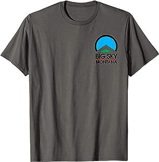 Big Sky Montana Ski Snowboard Mountain T-Shirt