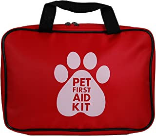Rayco International Ltd. AKC Pet First Aid Kit, Red