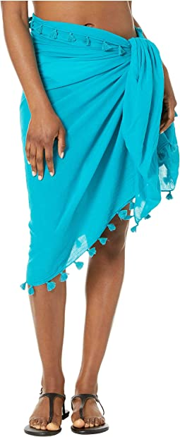 cc4dc8728e631 Seafolly embroidered kaftan cover up | Shipped Free at Zappos