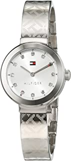 Tommy Hilfiger Women's Silver Dial Stainless Steel Band Watch - 1781714