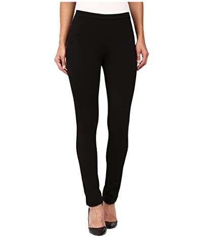 NIC+ZOE Perfect Ponte Pant (Black Onyx) Women