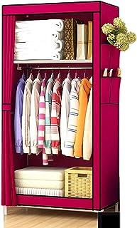 Garde-robe XINYALAMP Armoire en Tissu Simple Assemblage Simple Simple Dortoir Dortoir Salle étudiant Home Storage Storage ...