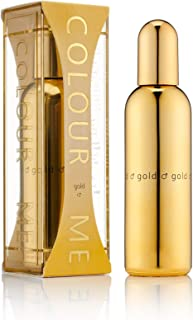 Colour Me | Gold Homme | Eau de Toilette | Fragrance Spray for Men | Oriental Fougere Scent | 3 oz