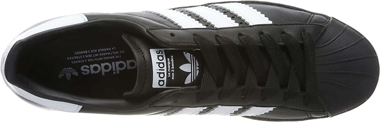 adidas Superstar 80s, Scarpe da Ginnastica Uomo Nero Core Black Ftwr White Core Black Core Black Ftwr White Core Black