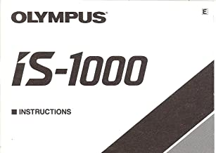 Olympus IS1000 Original Instruction Manual (Olympus IS-1000)