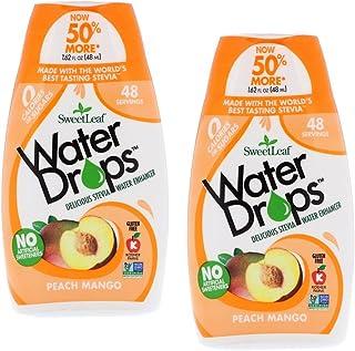 Sweetleaf Water Drops 1.62 fl.oz. Peach Mango (2 Pack)
