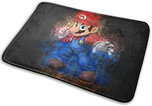 Mario Area Rugs Bedroom Super Soft Non-Slip Carpets Living Room Home Decor Carpet 15.7 X 23.5 Inch