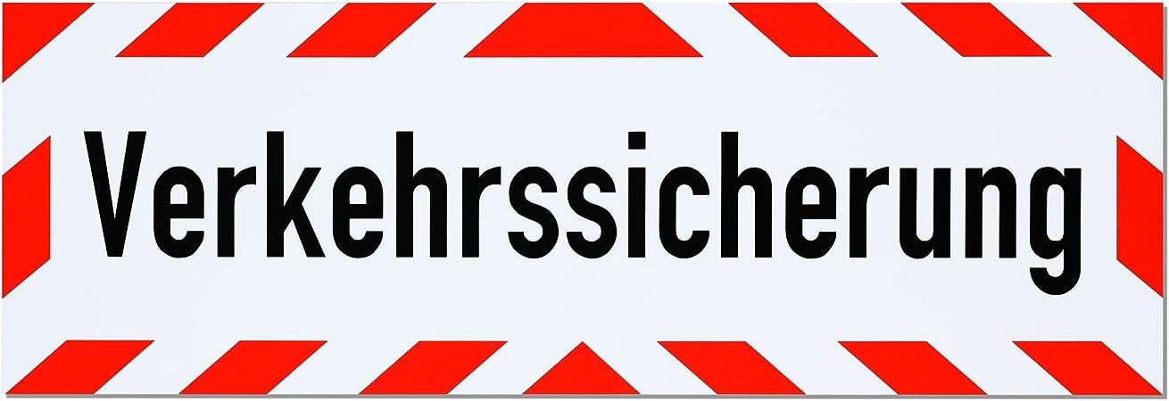 Lohofol Magnetschild Verkehrssicherung Schild Magnetisch Lieferbar In Drei Größen 45 X 15 Cm Auto