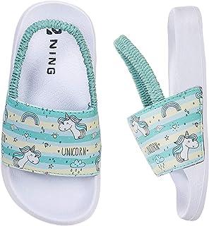 Zapatillas de Verano Zapatos de Playa y Piscina Niña Niño Chanclas Zapatillas de Ducha Antideslizantes