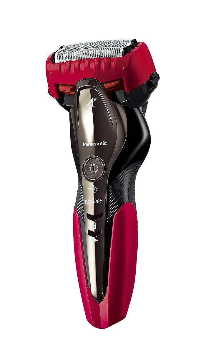 山講義クリップパナソニック ラムダッシュ メンズシェーバー 3枚刃 お風呂剃り可 赤 ES-ST2P-R