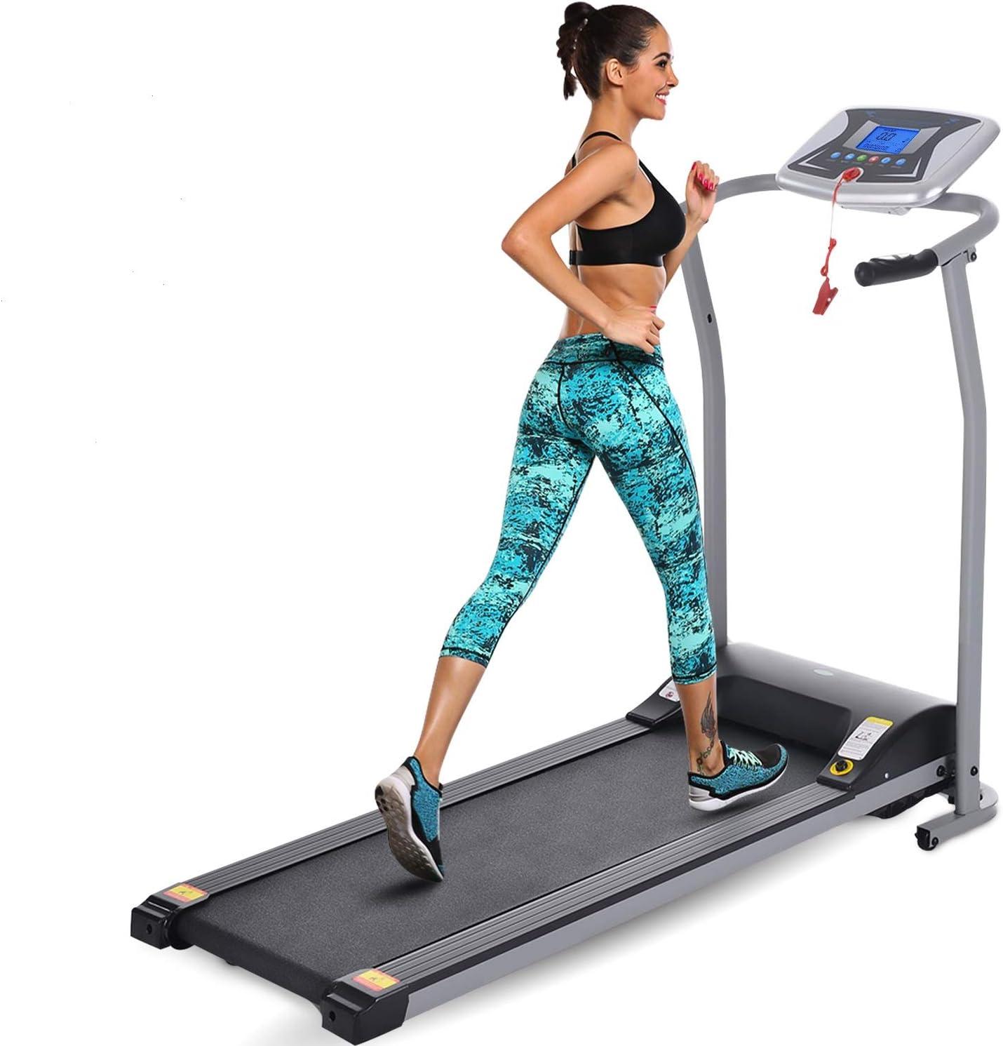 Mauccau Folding Treadmill Boston Mall Electric Machine Motorized Running Recommended Por