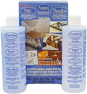 Alumilite amazing clear cast epoxy resin 16 ounces