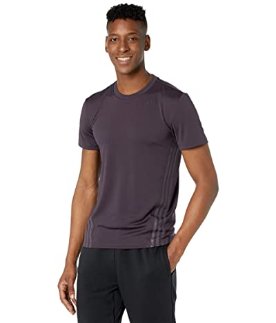 adidas Aeroready Stripe Tee (Noble Purple) Men