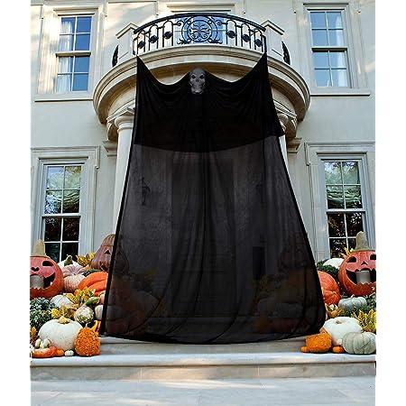 Moon Boat 13.94ft Halloween Ghost Hanging Decorations Scary Creepy Indoor Outdoor Decor