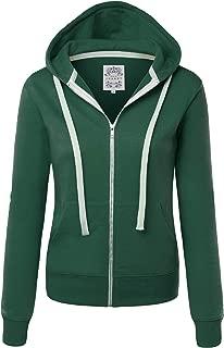 Women's Active Casual Zip-up Hoodie Jacket Long Sleeve Comfortable Lightweight Sweatshirt