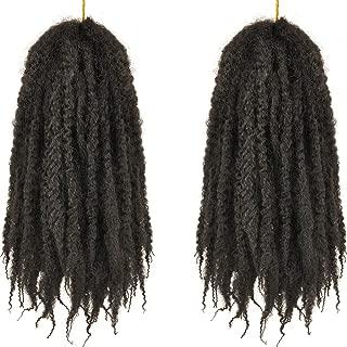 Best kinky curly braiding hair Reviews