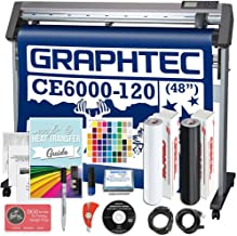 Graphtec Plus CE6000-120 48 Inch Professional Vinyl Cutter with Bonus Software, Oracal 651, and 2 Year Warranty
