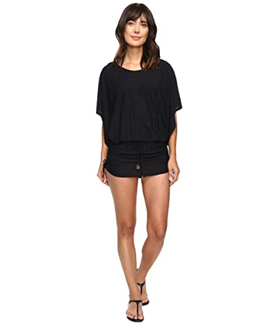 Luli Fama Cosita Buena South Beach Dress Cover-Up (Black) Women