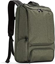 eBags Professional Slim Laptop Backpack for Travel, School & Business - Fits 17 Inch Laptop - Anti-Theft - (Sage Green)