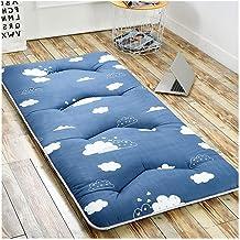 Futon Mattress, Keep Warm in Winter Thickening Mattress Tatami Mat Bedroom Furniture Student Dormitory Mattress 5cm Thickn...