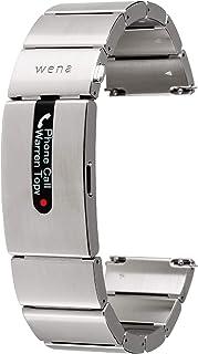 ソニー ウェナ SONY wena スマートウォッチ 電子マネー 楽天Edy 活動量計 iOS/Android対応 wena wrist pro Silver : ステンレス/有機ELディスプレイ/Bluetooth/約1週間連続動作 WB-1...