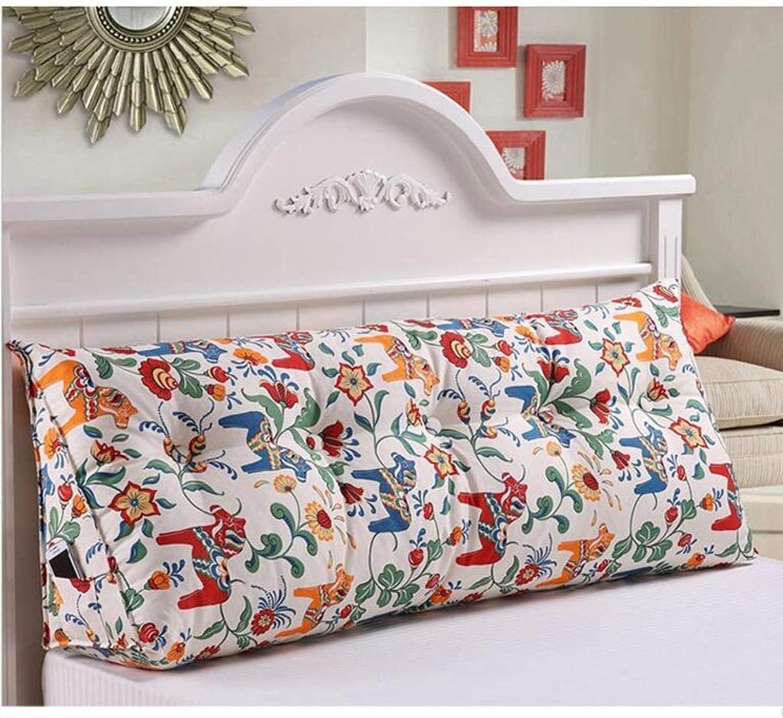 AOLIr Coussin de cale triangulaire oreiller de chevet, canapé long coussin coussin de dossier salon nordique oreiller pour canapé lit moderne décor à la maison, 1,120  25  50cm
