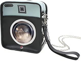 Alfie Pet - Brody Pouch Purse Carrier for Small Animals Like Dwarf Hamster and Mouse - Color: Black