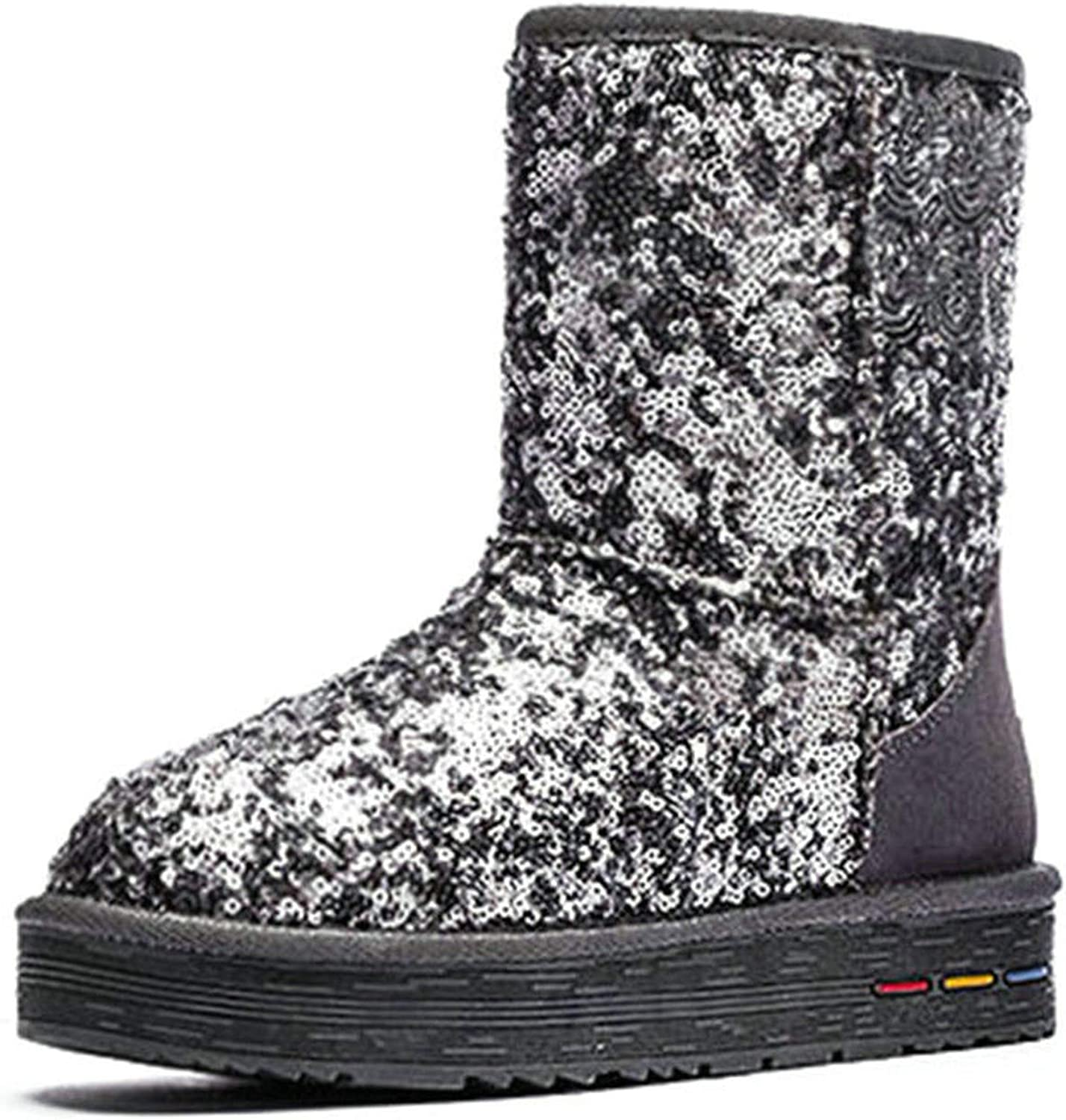 This is not a harm. Cuculus Wholesale Australia Classic Women Snow Boots Women Cow Suede Winter Classic Boots 5827,Grey,6.5