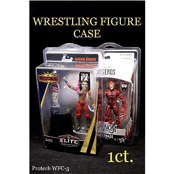 "/""Figure Defender/"" Single - Mattel WWE Retro Case Protective Case"