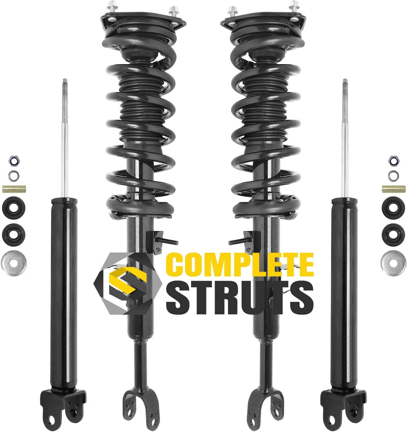 Front Quick Complete Struts Assembly Shocks Absorbers Lowest price challenge Award-winning store Rear Rep