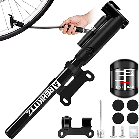 SUITS ALL VALVES Mountain Bike BMX Bicycle UK Mini Bicycle Pump