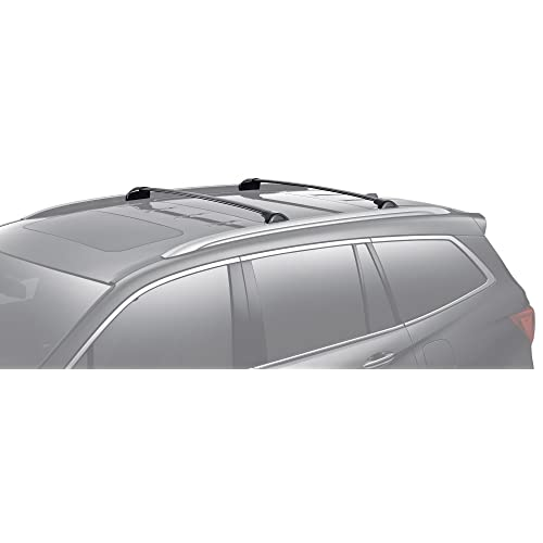 BRIGHTLINES 2016-2019 Honda Pilot Crossbars Roof Racks (Black)