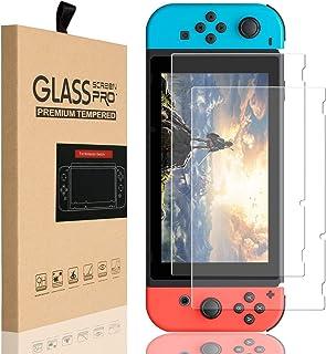 SLACTech Protector de Pantalla para Nintendo Switch 2017, Vidrio Templado, 2 Unidades