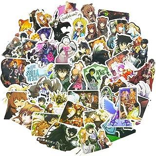 Japanese Anime Stickers Pack 50pcs Teens Cartoon Laptop Car Water Bottles Bomb Skateboard Phone Vinyl