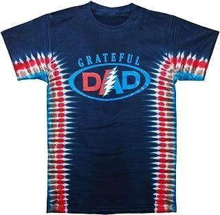 Men's Grateful Dad Tie Dye T-Shirt Multi