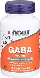 Now Foods, GABA 500 Mg Plus B6, 100 Capsules