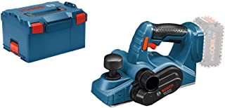 Bosch Professional 06015A0300 GHO 18 V - LI Cordless Planer (without Battery and Charger), L - Boxx