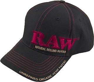 Raw Snapback Gorra de béisbol, talla única, color negro o beige Negro Negro ( Taille unique