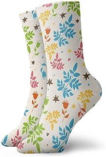 Luxury Calcetines de Deporte Plants Unisex Funny Art 3D Print Casual Crew Socks Athletic Crew Socks