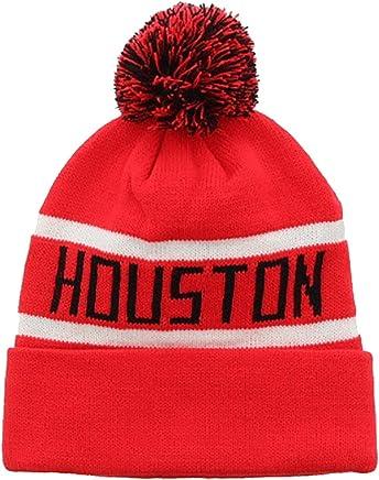 a32a8866c3b Milani Winter Texas Houston Thick Pom Beanie with Cuff Skull Cap Hat