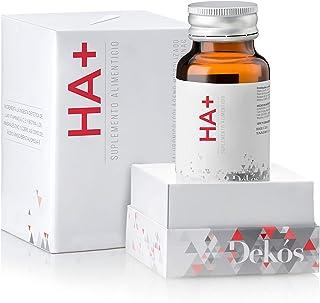 DEKÓS HA+ | Ácido Hialurónico con Coenzima Q10, Omega 3, Colágeno Hidrolizado, Resveratrol y Vitamina C | 30 cápsulas