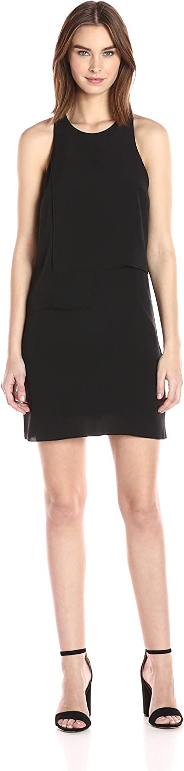 French Connection Womens Cornell Solid Dress Dress