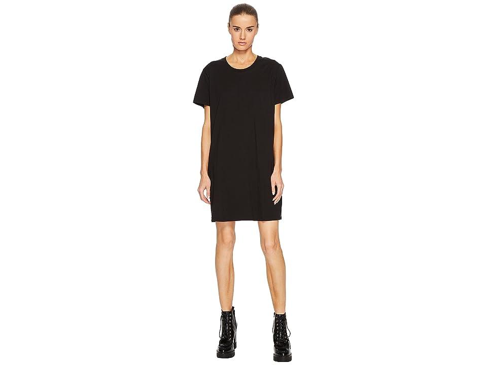 Versus Versace T-Shirt Donna Short Sleeve Dress (Black/Stampa) Women