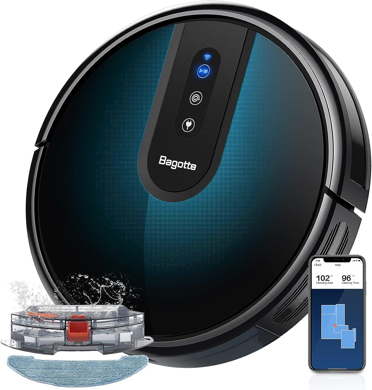 Robot Vacuum shop and online shop Mop Bagotte Cleane Robotic 2000Pa Wi-Fi